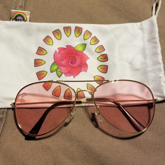 7c2c35e1c4a2 Rainbow OPTX Rose Aviator Sunglasses. M 5b00f14e2ab8c57156316df6. Other  Accessories ...